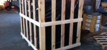 foto jaula base cerrada forrada
